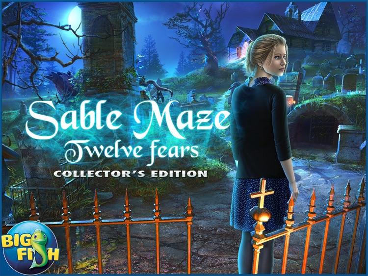 Sable Maze: Twelve Fears HD - A Mystery Hidden Object Game (Full) screenshot-4