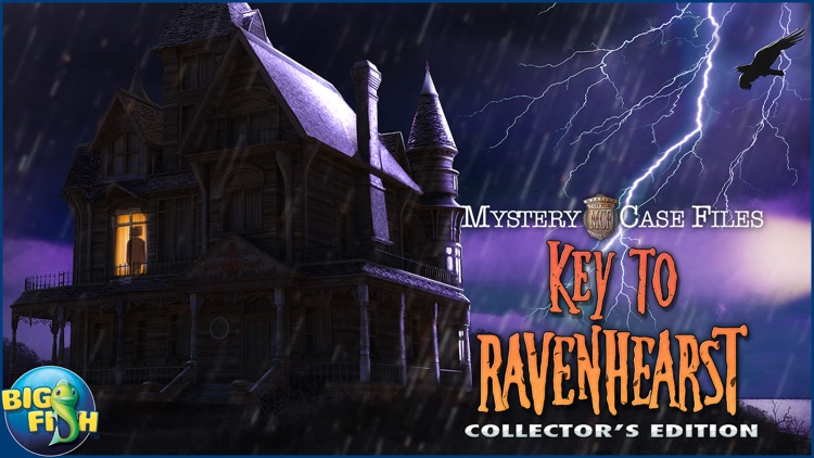 Mystery Case Files: Key To Ravenhearst - A Mystery Hidden Object Game (Full) screenshot-4