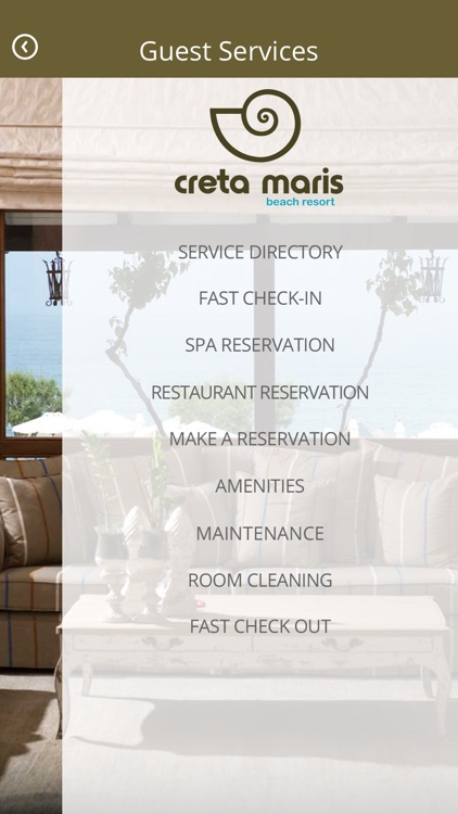 Creta Maris Beach resort screenshot-1