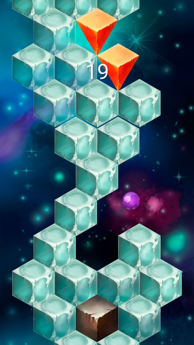 Rolling In The Sky - Addicting Time Killer Game Screenshot on iOS