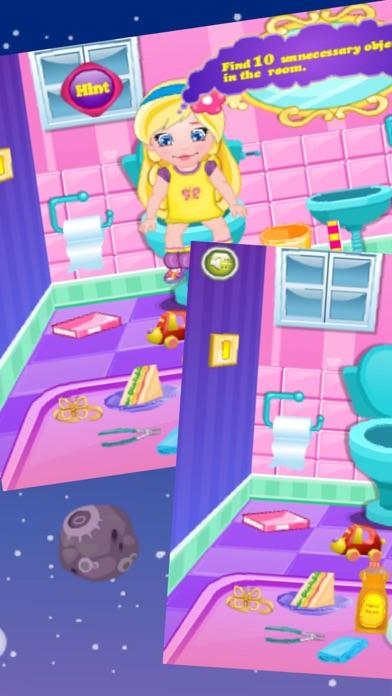 公主学习上厕所:女孩时尚游戏