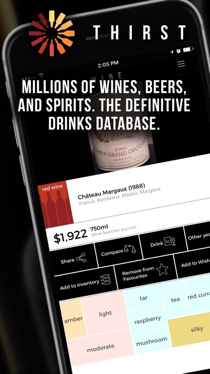 Thirst - Wine, Beer, Spirits by Full Glass Limited