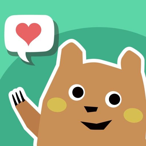 会話ネタアプリ「モテトーク」