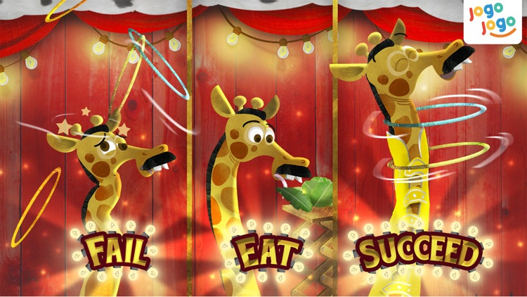 Jogo Circus Animals - Finishing your plate of food is fun! screenshot-2