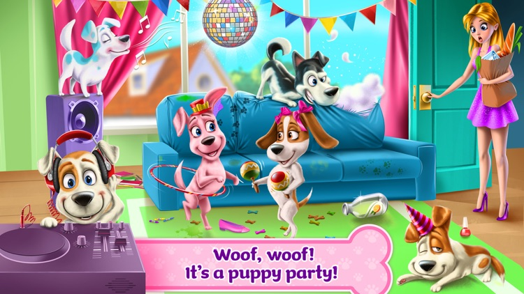 Puppy Life Secret Party
