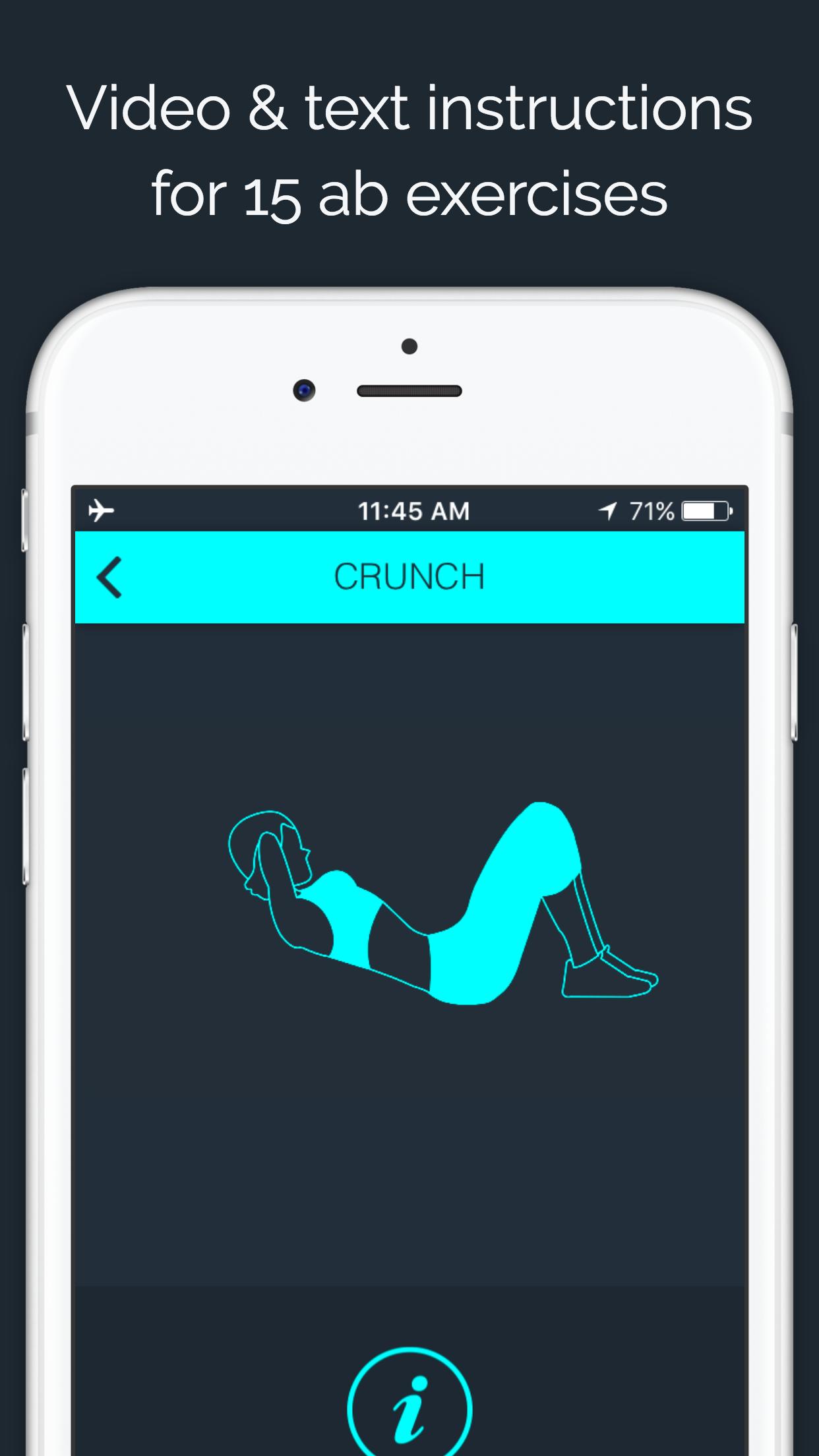 30 Day - Ab Challenge Screenshot