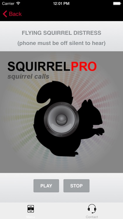 REAL Squirrel Calls and Squirrel Sounds for Squirrel Hunting! - (ad free) BLUETOOTH COMPATIBLE screenshot-0
