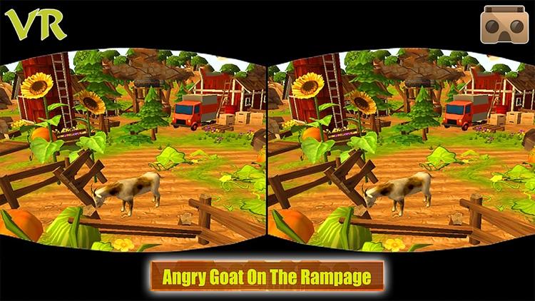 VR Angry Goat Simulator 3D screenshot-4