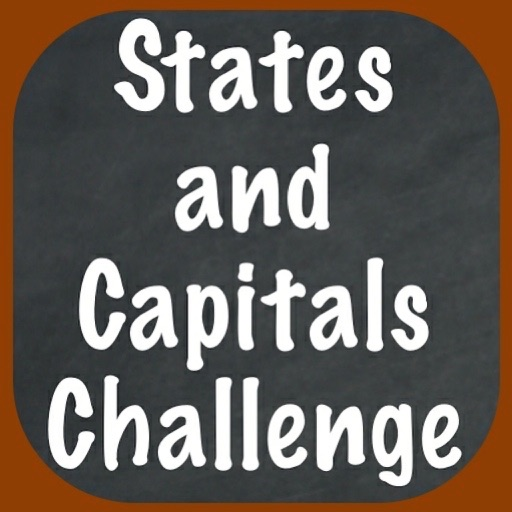 States and Capitals Challenge – Flash Cards Speed Quiz for the United States of America
