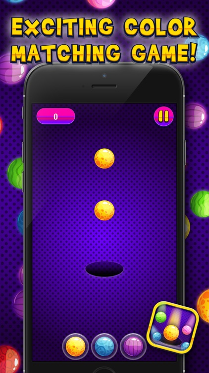 Match The Colors – Pair Up Colorful Roll.ing Balls with Fun and Challenging Game for Kid.s screenshot-3