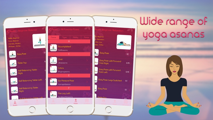 Basic Yoga For Beginners - Home Workout Guide For Beginners, Weight Loss & Flexibility screenshot-3