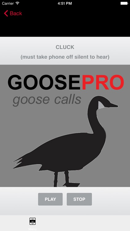 Canada Goose Calls & Goose Sounds for Hunting - BLUETOOTH COMPATIBLE
