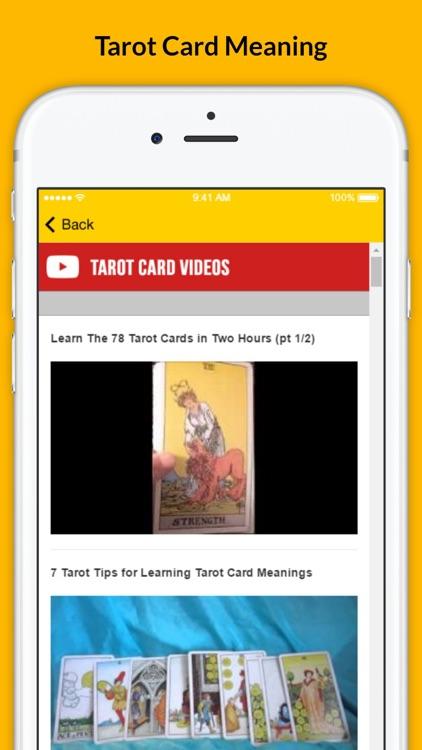 Tarot Card Meaning - Full Version screenshot-4