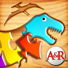 Activities of My First Wood Puzzles: Dinosaurs - A Free Kid Puzzle Game for Learning Alphabet - Perfect App for Ki...