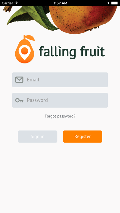 Falling Fruit review screenshots