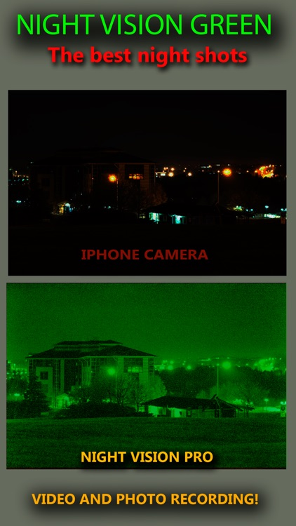 Night Vision Real Mode Camera Secret - True Green Light For Photo & Video screenshot-4