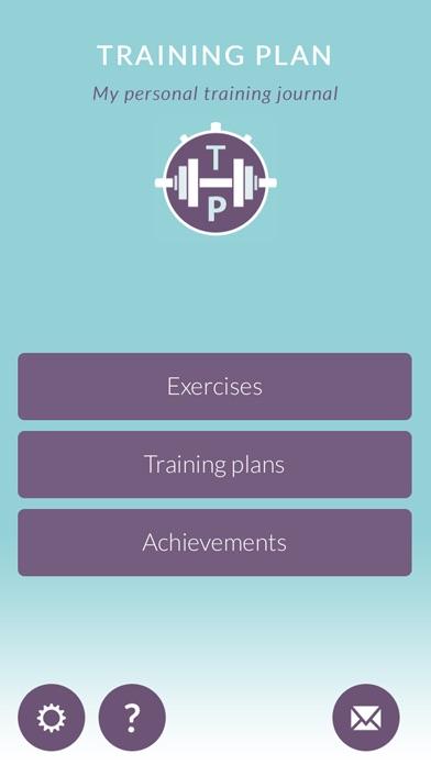 Training Plan Free - My personal training journal screenshot one