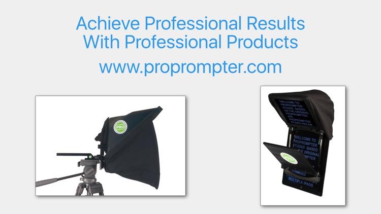 ProPrompter Studio screenshot-4