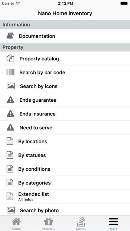 Nano Home Inventory screenshot-3