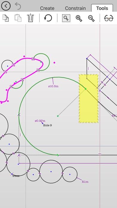 ドローまで - 拘束と寸法の2D CAD図... screenshot1