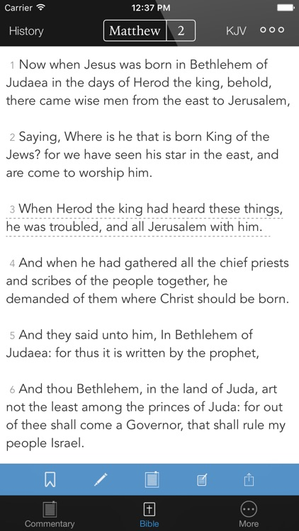 KJV Study Bible - with William Barclay Commentary screenshot-3