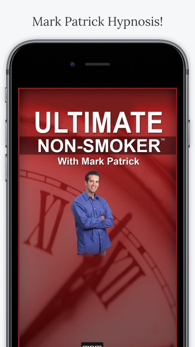Mark Patrick Hypnosis Ultimate Non Smoker App screenshot one