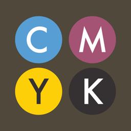 Ícone do app CMYK.