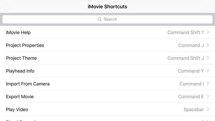 Shortcut: iMovie Edition screenshot-3
