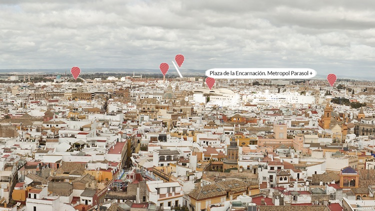 Lookout of the Giralda of Seville