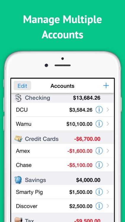 Checkbook Ledger Free - Reconcile and balance your checkbook register