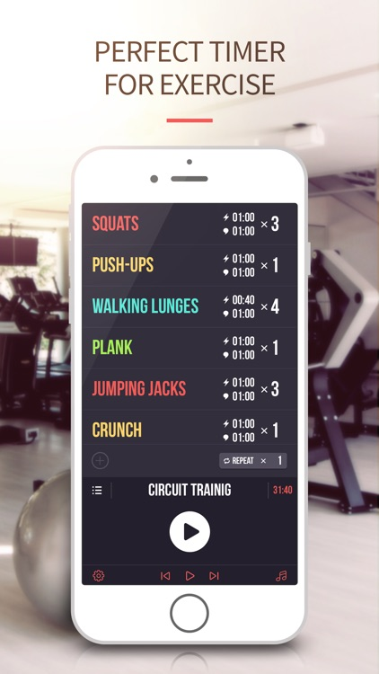 Interval Timer-Tabata,HIIT,Crossfit