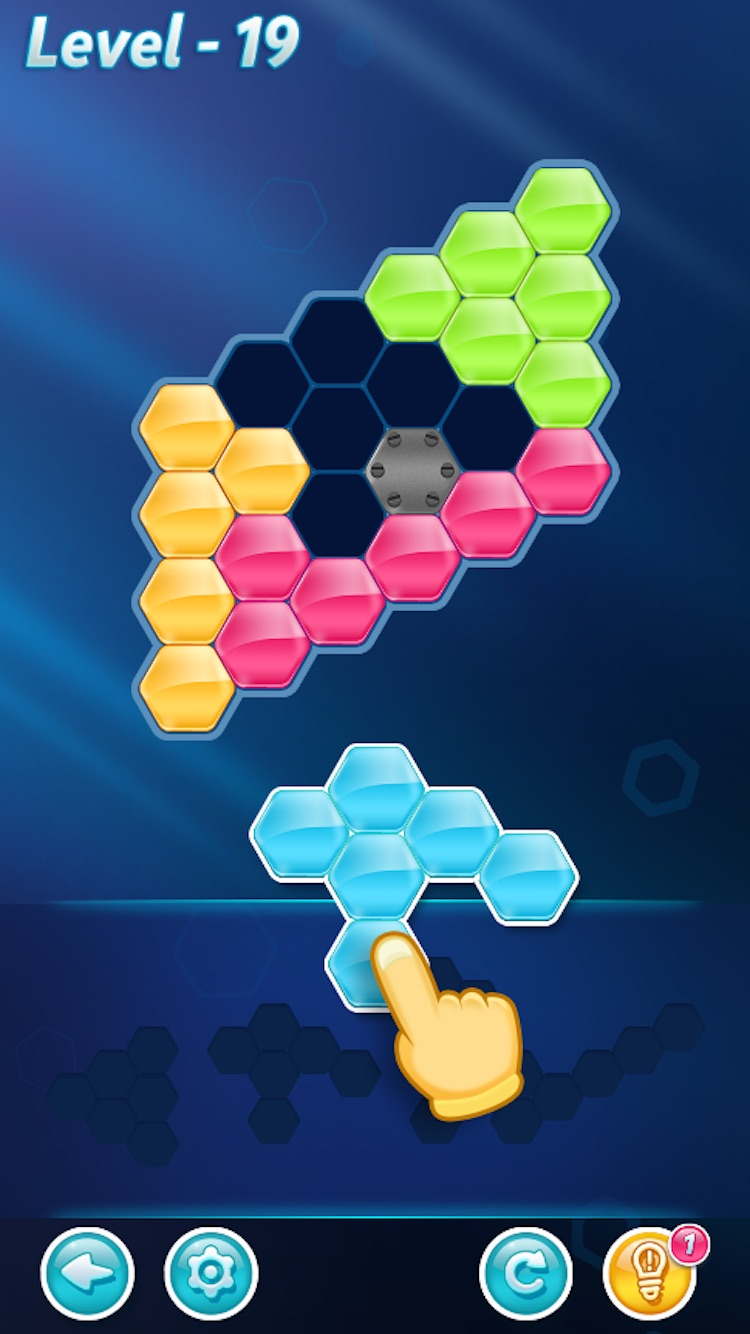 Block Hexa Puzzle Lösung