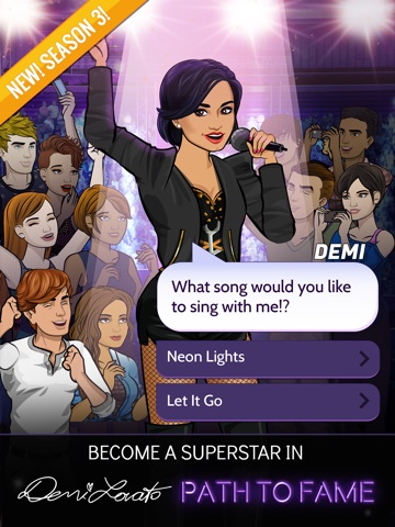 Demi Lovato: Path to Fame на iPad
