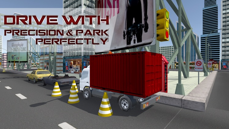Mega Truck Driving School – Lorry driving & parking simulator game screenshot-3