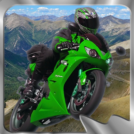 Motorcycle On The Hill Rom - Extreme Game