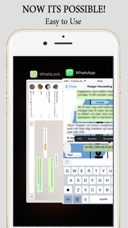 Dual Accounts for WhatsApp with LOCK (for iPad, iPod & iPhone) screenshot-4