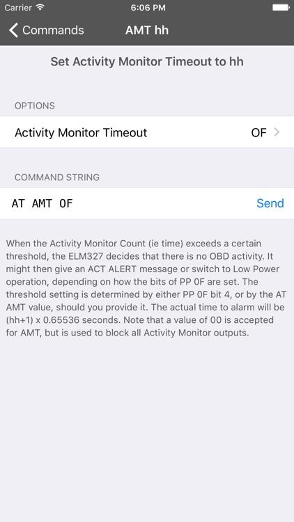 OBD Terminal for ELM 327 Wifi adapters screenshot-3