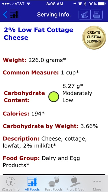 iCarbs - iNutrient: Carbohydrates screenshot-3