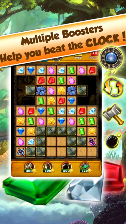 Super Jewel Mania 3 : Egypt Quest Match 3 Game screenshot-3