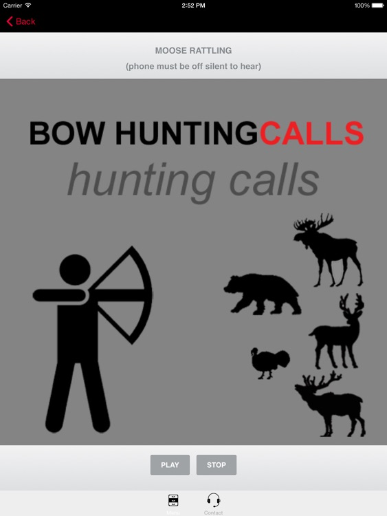 Bow Hunting Calls - Premium Hunting Calls For Archery Hunting Success (Ad Free) BLUETOOTH COMPATIBLE
