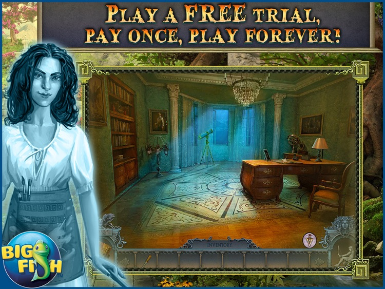 Secrets of the Dark: Mystery of the Ancestral Estate HD - A Mystery Hidden Object Game screenshot-0