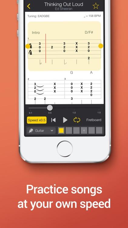 Tab Pro: learn, hear & play multitrack guitar tabs screenshot-3