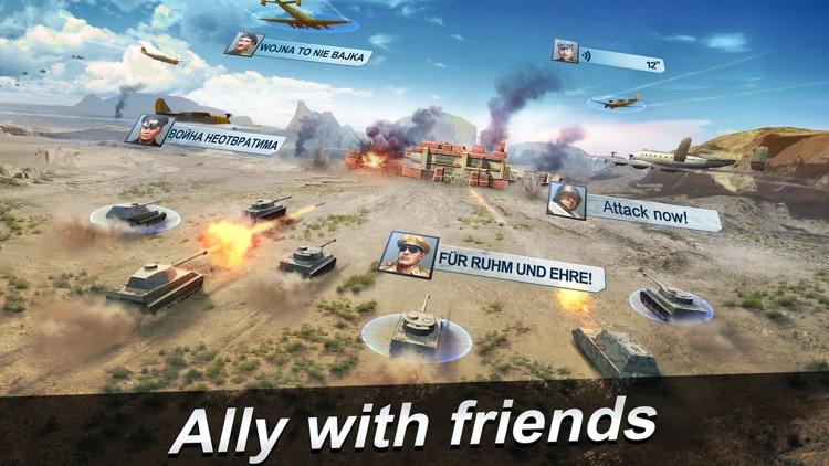 World Warfare-3D MMO Wargame screenshot-3