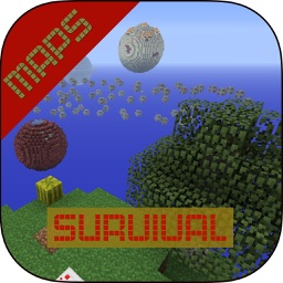 Survival MAPS for Minecraft PE ( Pocket Edition ) + Best Custom Map for MCPE