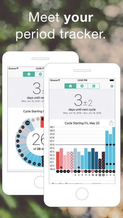 Groove - Period & Fertility TrackerScreenshot of 1