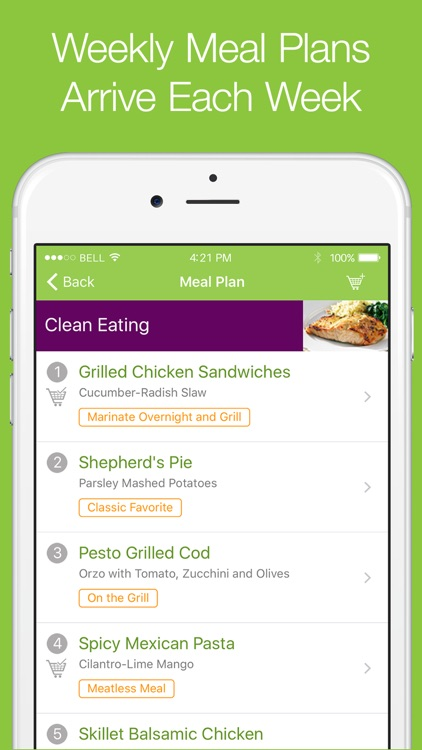 eMeals - Meal Planning and Grocery Shopping List