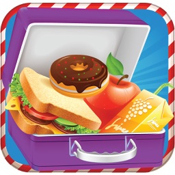 Kids school lunch maker – A school food & lunch box cooking game for girls