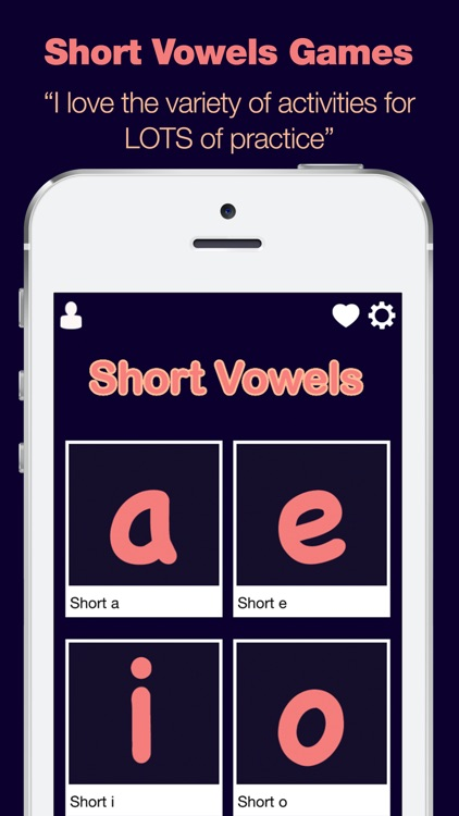 Short Vowels - Learn to Read
