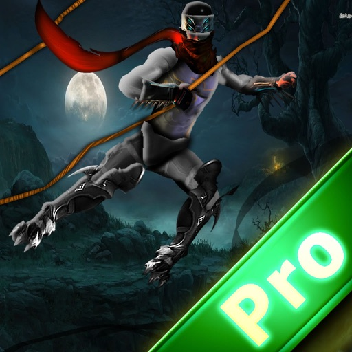 Rope Superhero Pro - Run and Fly on the Night Style
