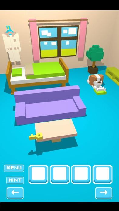 脱出ゲーム VoxelRoom (ボクセルルーム)紹介画像3